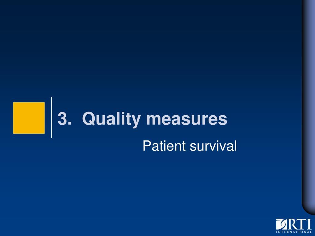 Patient survival