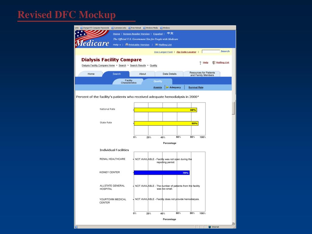Revised DFC Mockup
