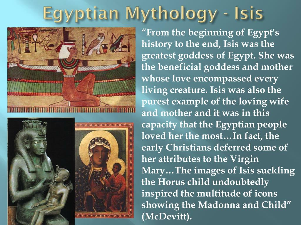 Egyptian Mythology - Isis