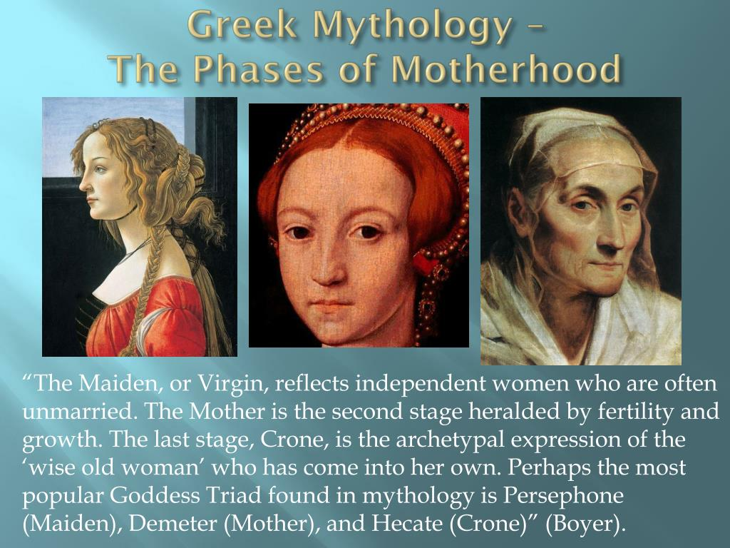 Greek Mythology –