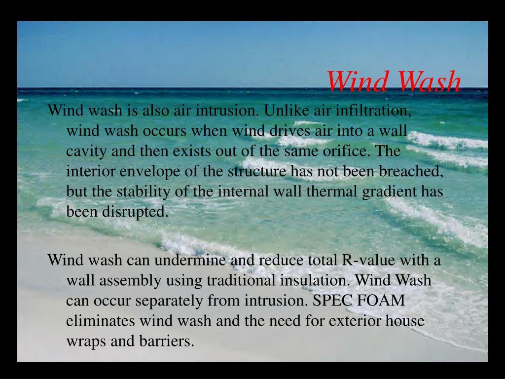 Wind Wash