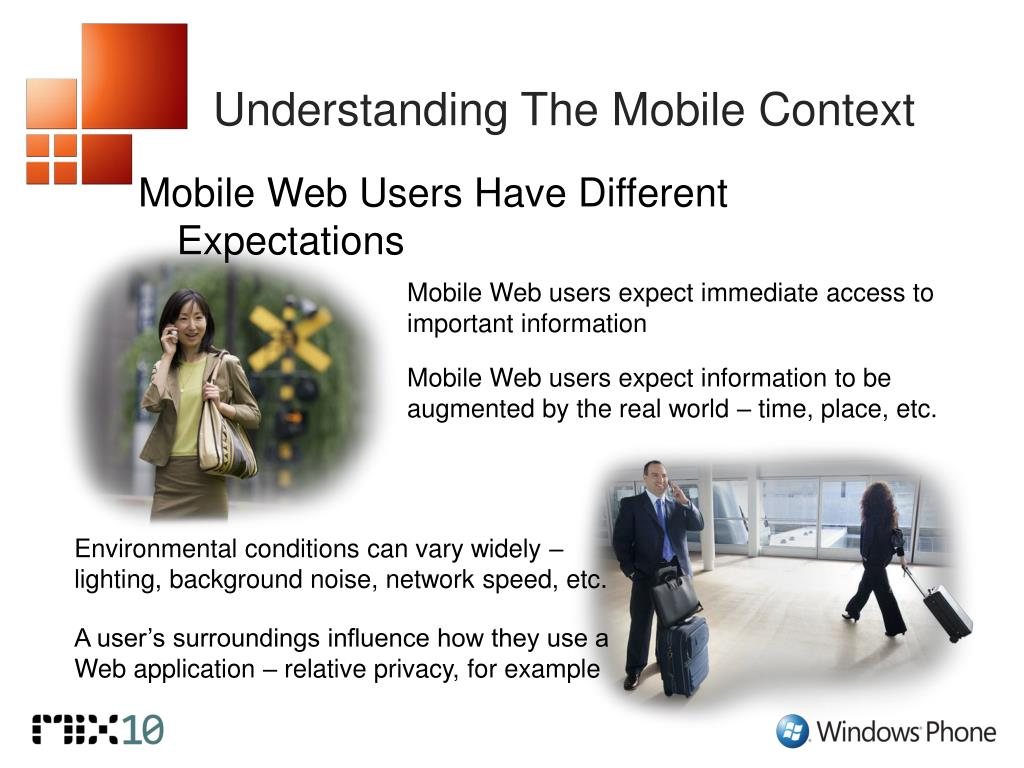 Understanding The Mobile Context