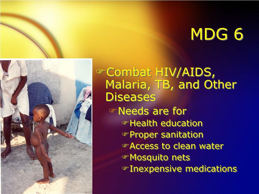 MDG 6