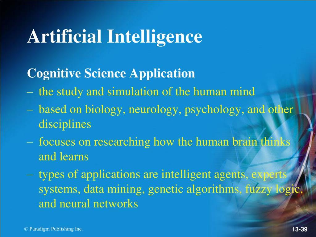 Cognitive Science Application