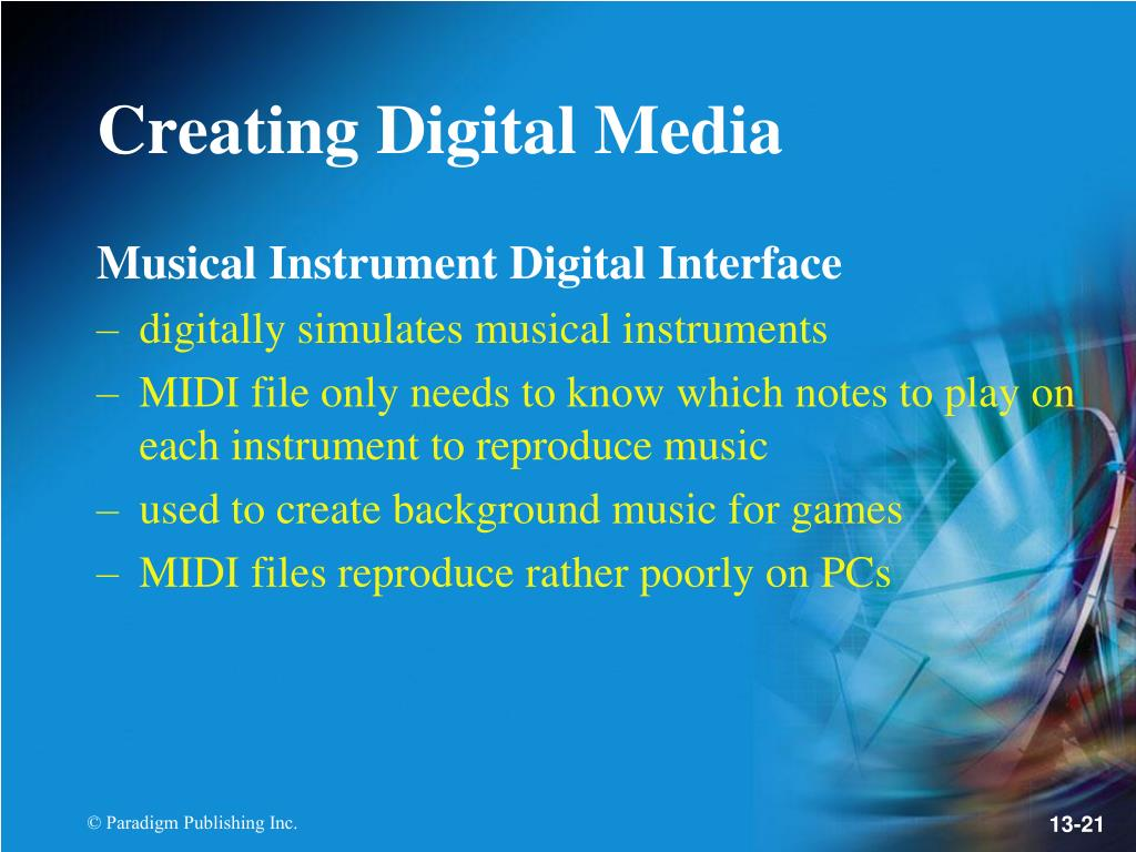 Musical Instrument Digital Interface