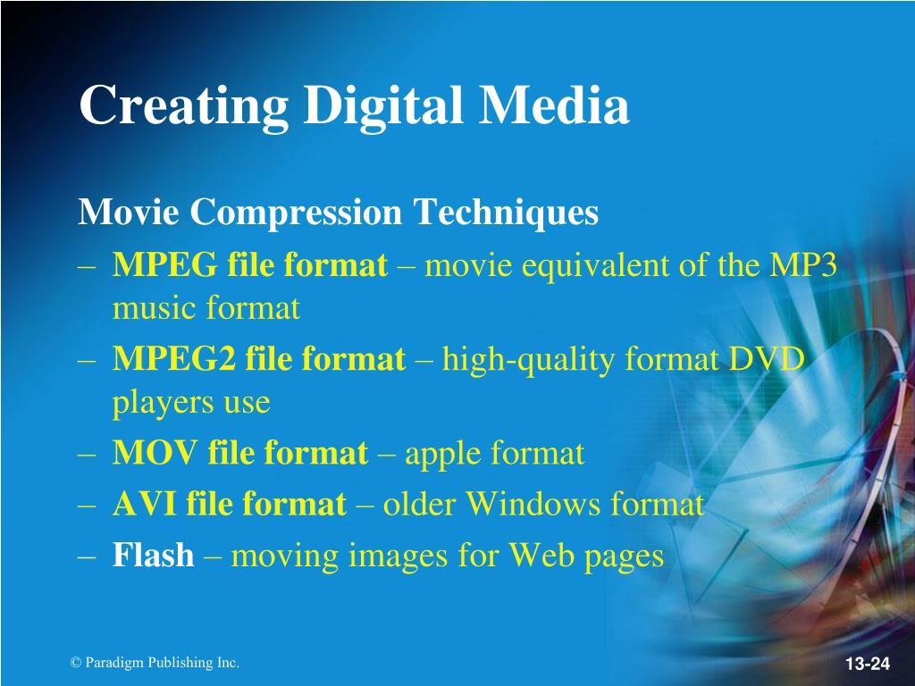 Movie Compression Techniques