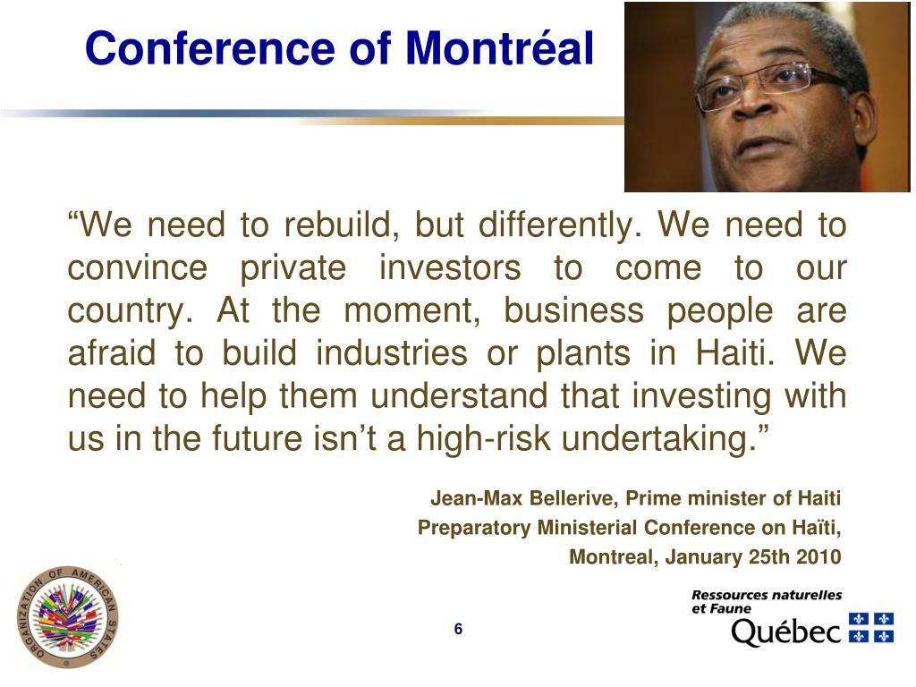 Conference of Montréal