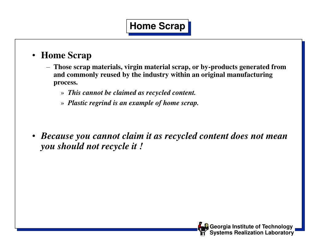 Home Scrap