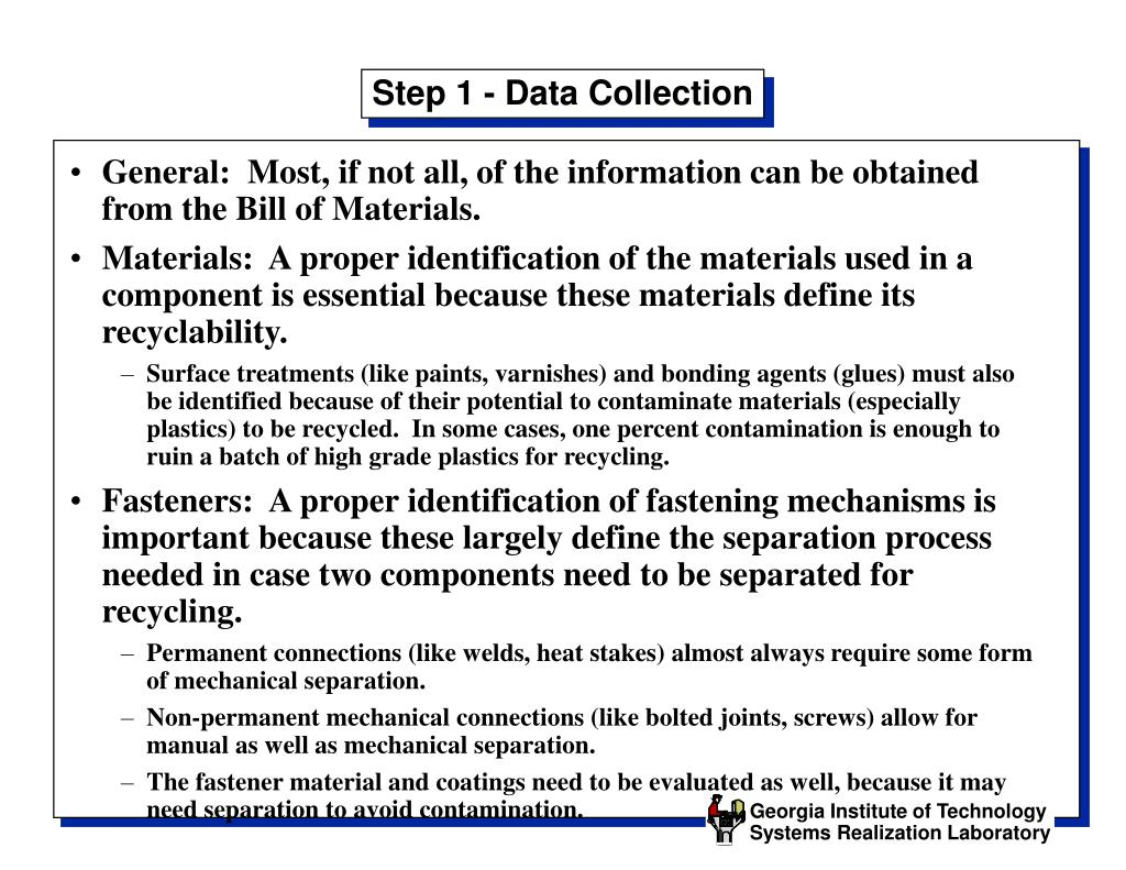 Step 1 - Data Collection