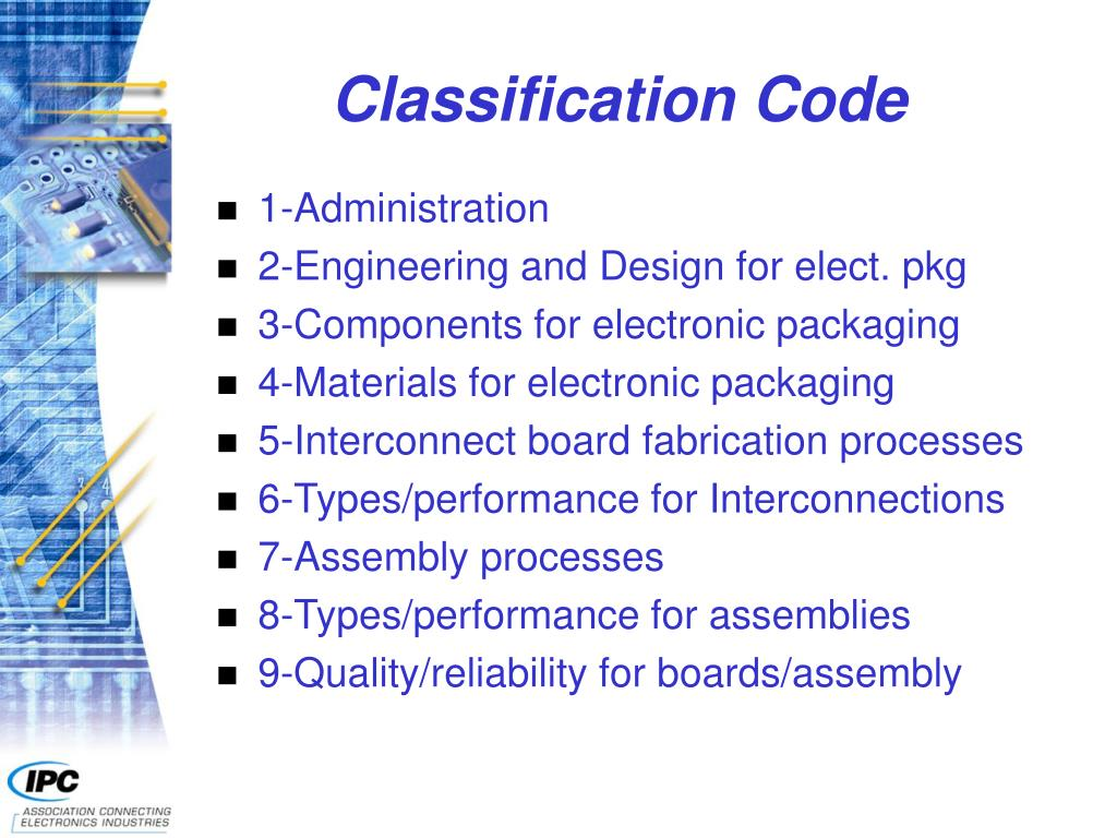 Classification Code