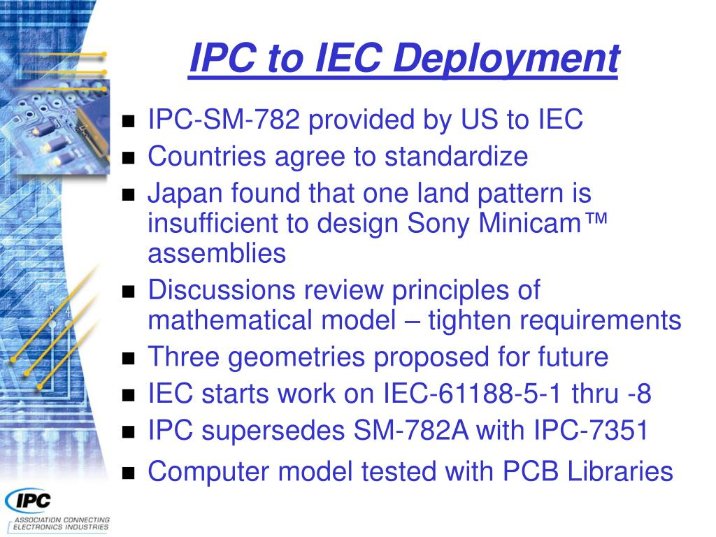 IPC to IEC Deployment