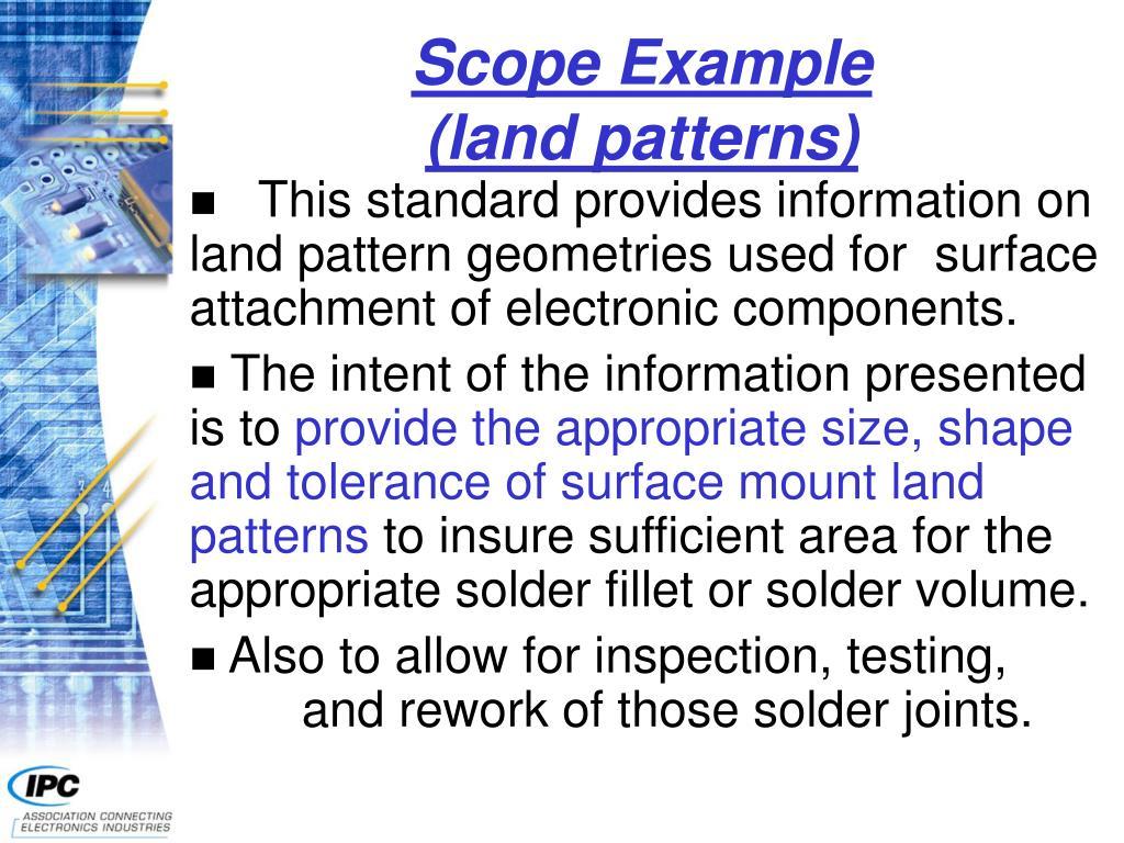 Scope Example