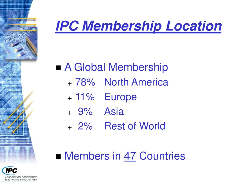 IPC Membership Location