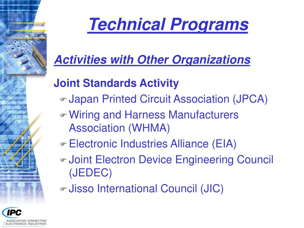 Technical Programs