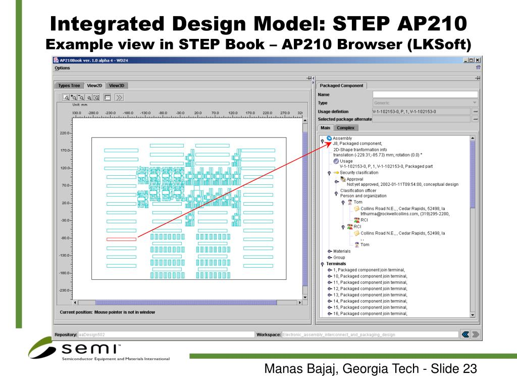 Integrated Design Model: STEP AP210