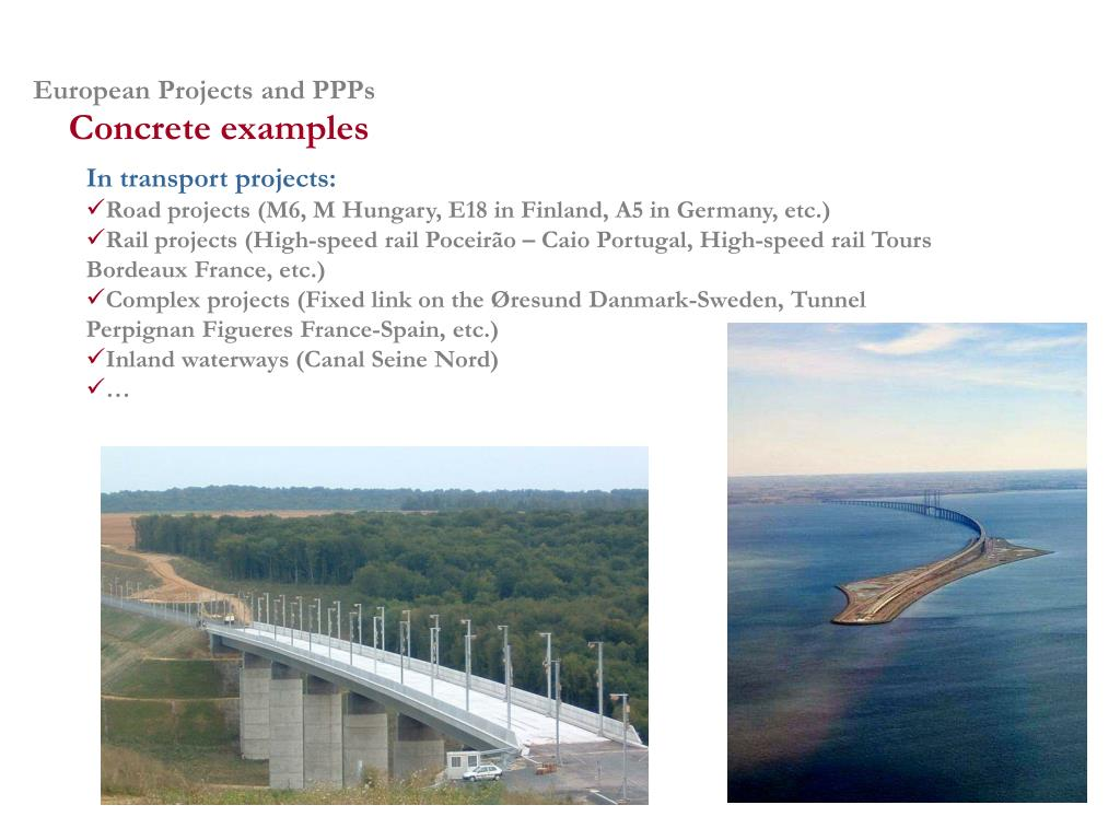 European Projects and PPPs