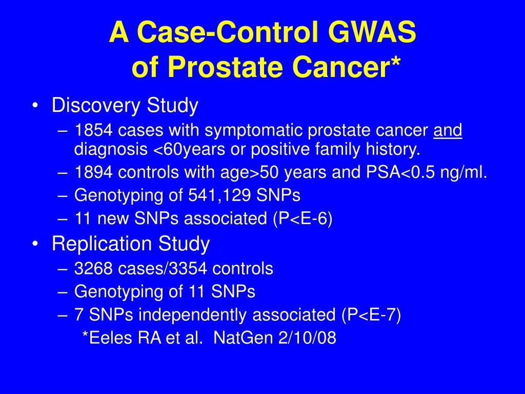 A Case-Control GWAS