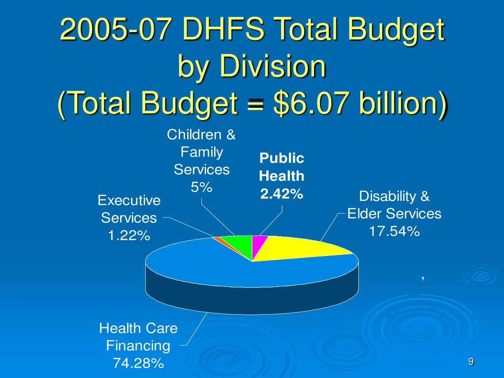 2005-07 DHFS Total Budget