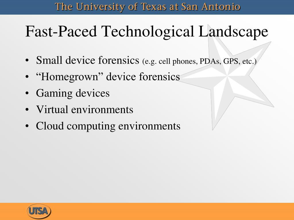Fast-Paced Technological Landscape