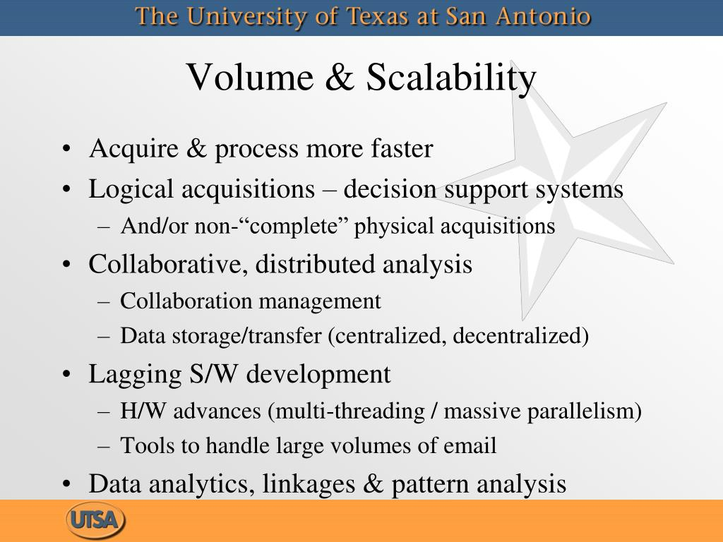 Volume & Scalability