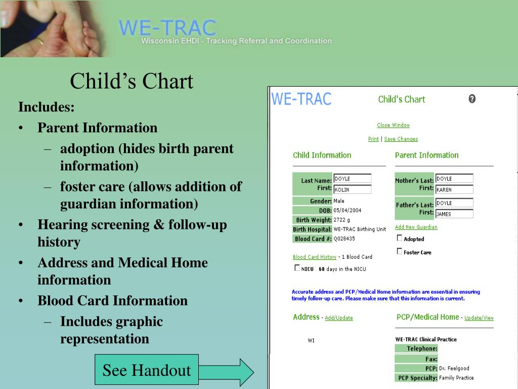 Child's Chart