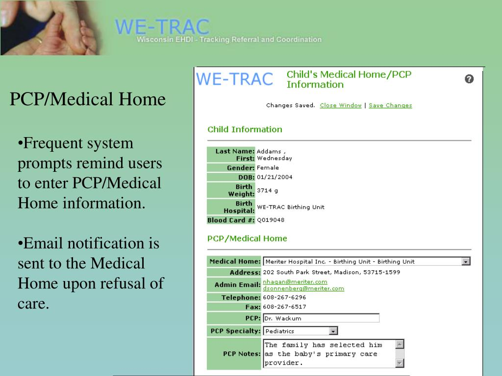 PCP/Medical Home