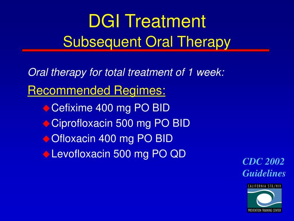 DGI Treatment