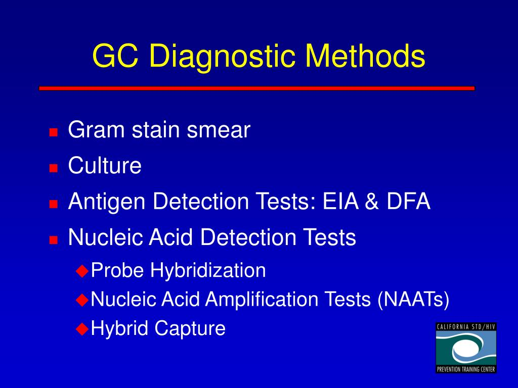 GC Diagnostic Methods