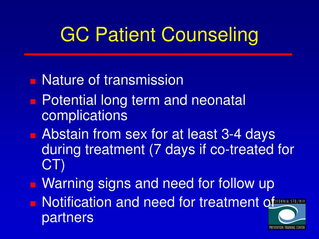 GC Patient Counseling