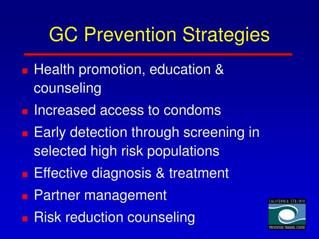 GC Prevention Strategies