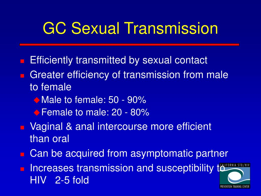 GC Sexual Transmission