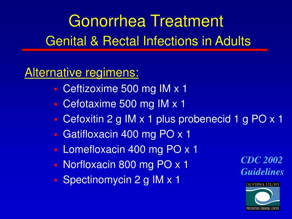 Gonorrhea Treatment