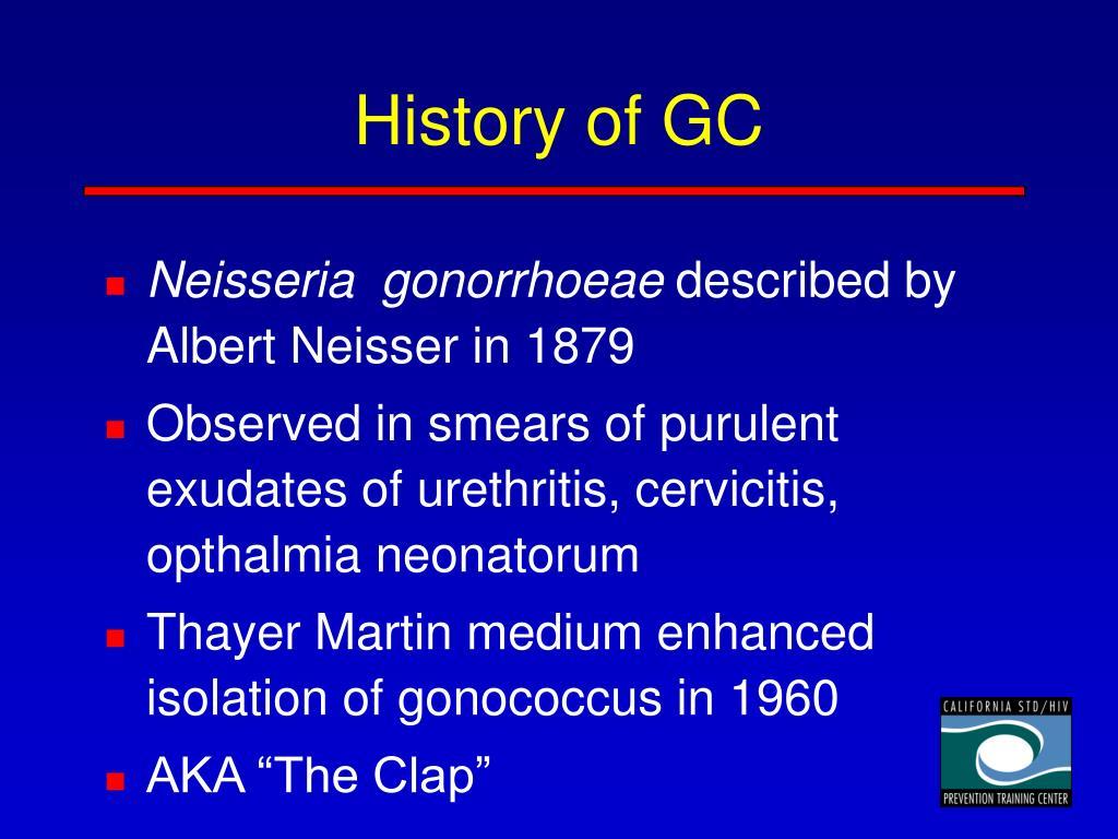 History of GC