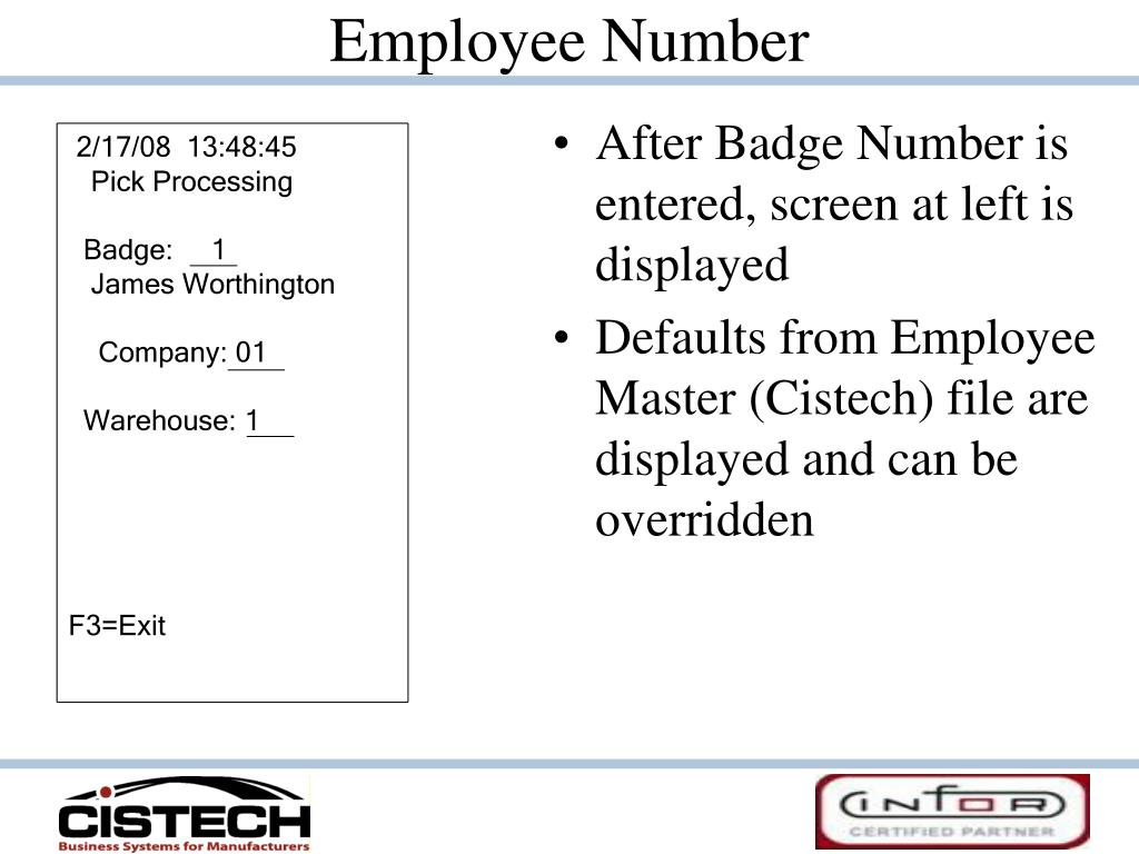 Employee Number