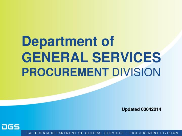 Department of