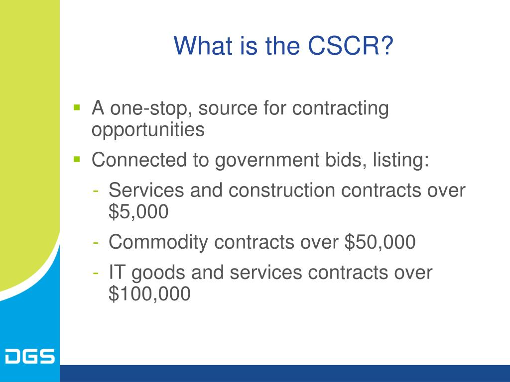 What is the CSCR?
