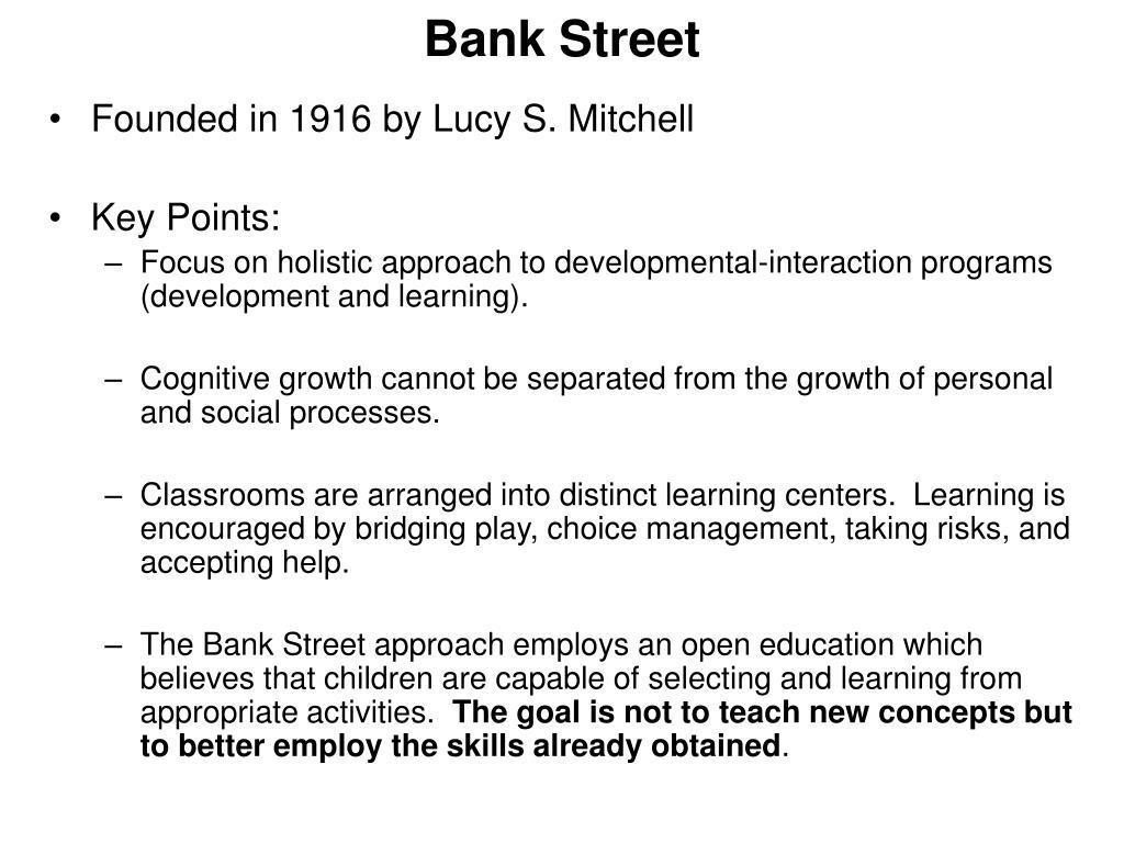 Bank Street