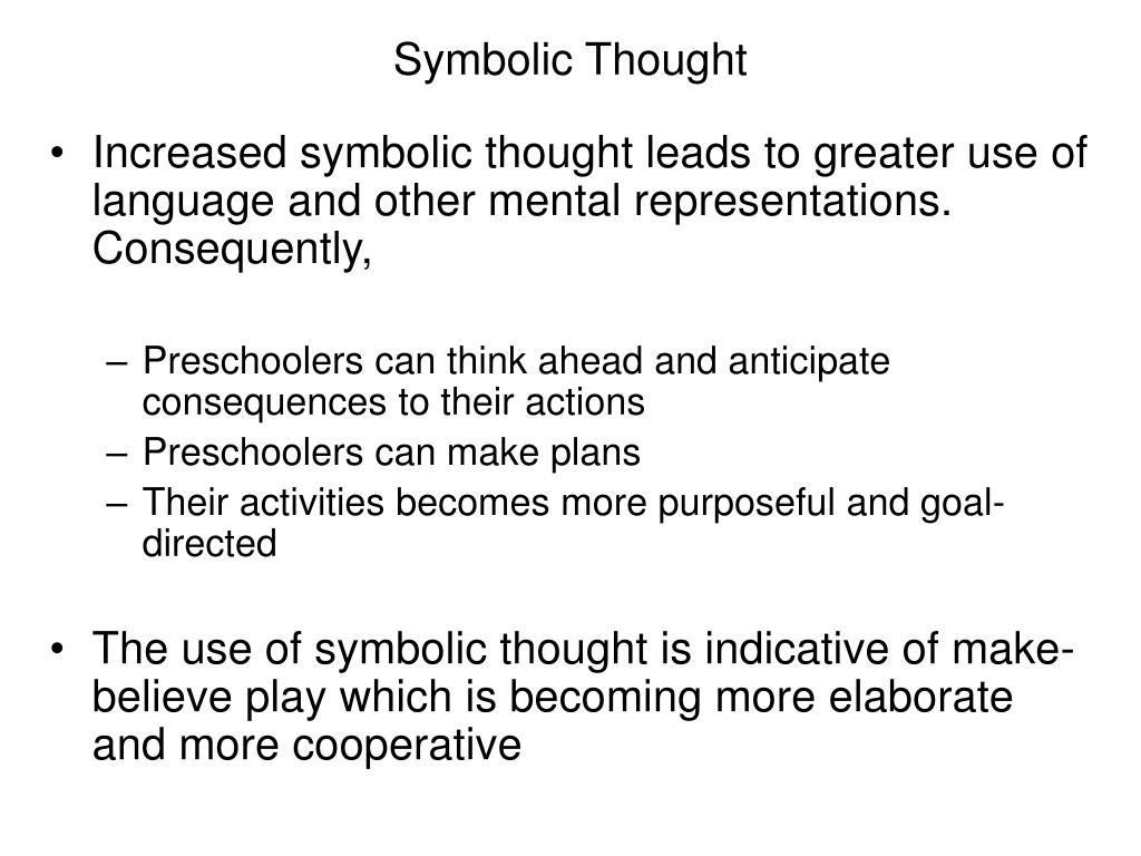 Symbolic Thought
