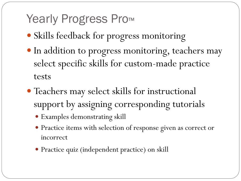 Yearly Progress Pro