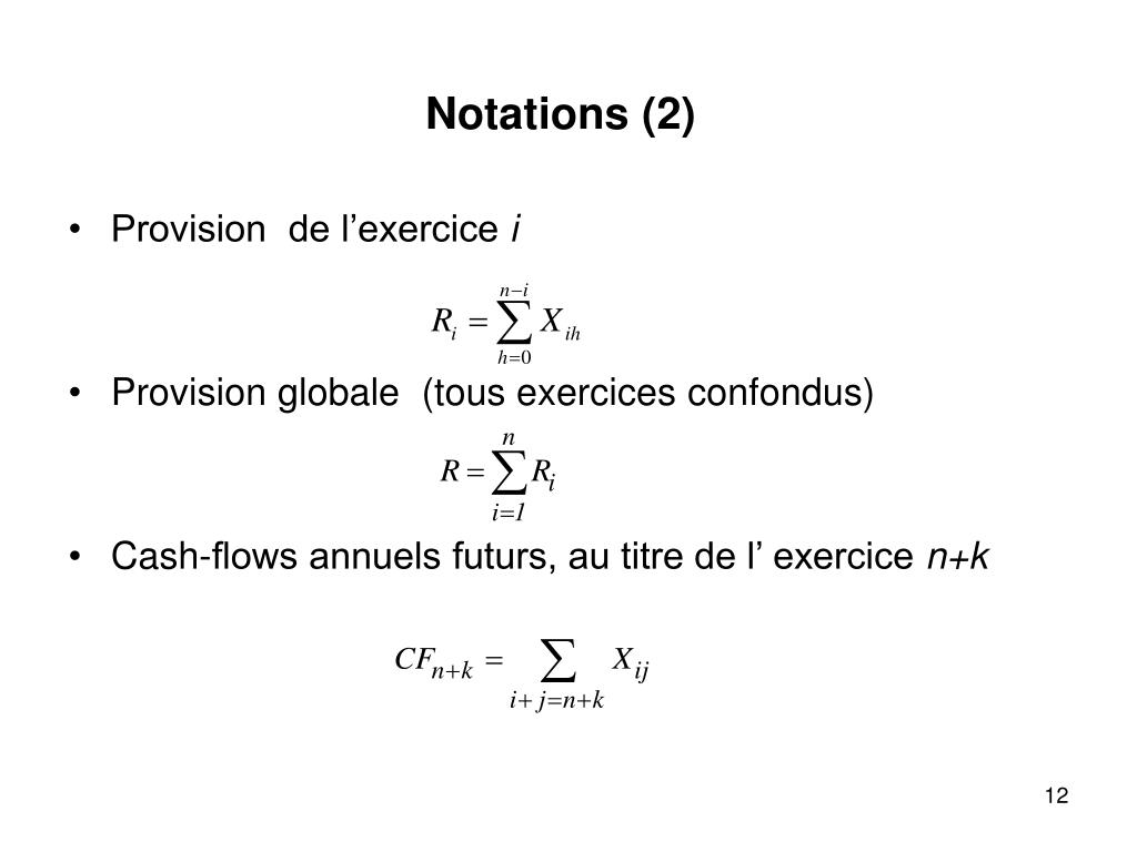Notations (2)