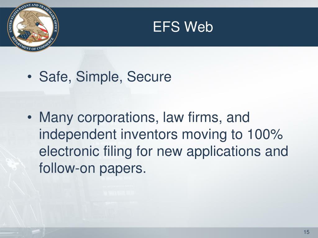 EFS Web