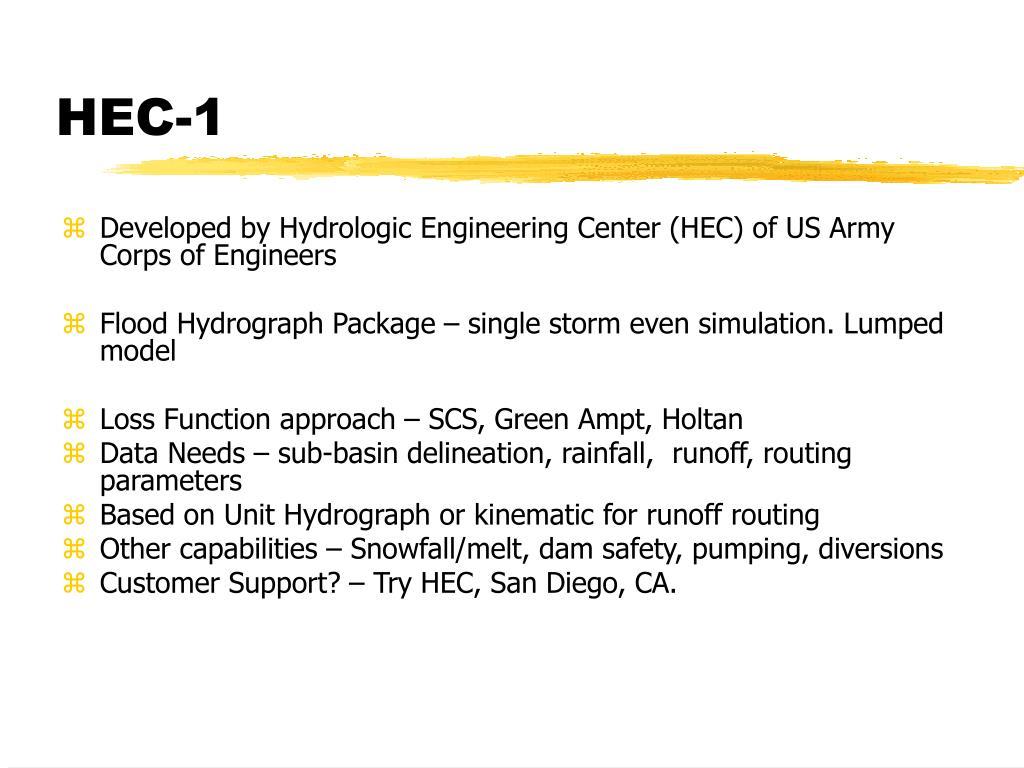 HEC-1