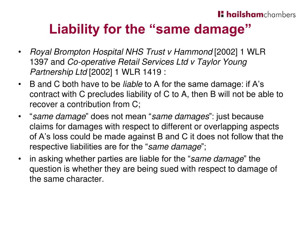 Royal Brompton Hospital NHS Trust v Hammond