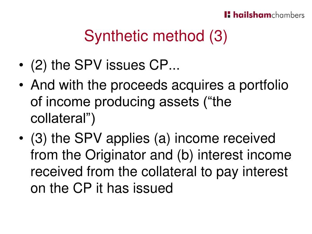 Synthetic method (3)