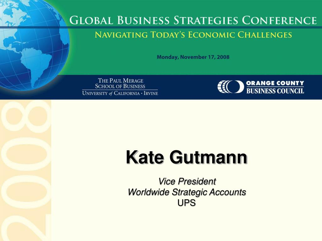 Kate Gutmann