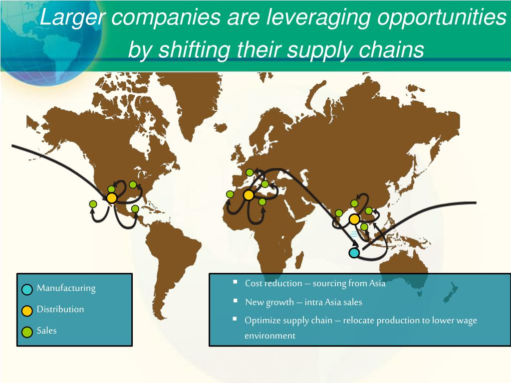 Larger companies are leveraging opportunities