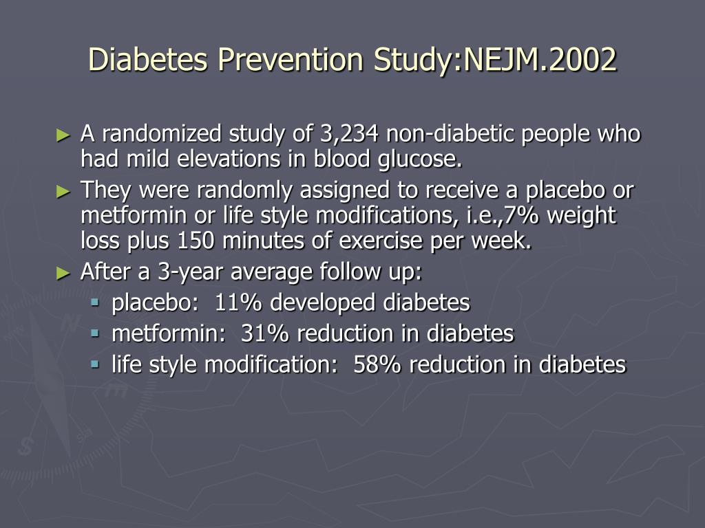 Diabetes Prevention Study:NEJM.2002