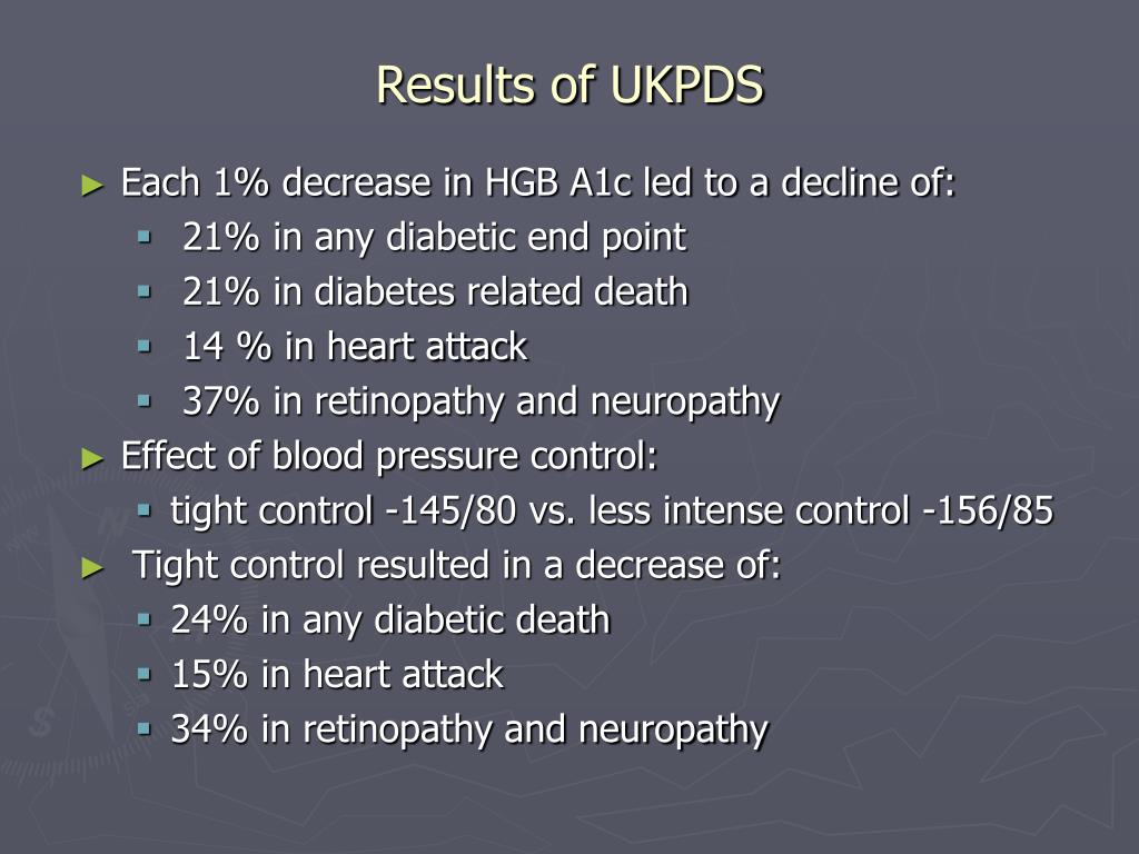 Results of UKPDS