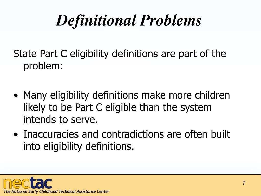 Definitional Problems