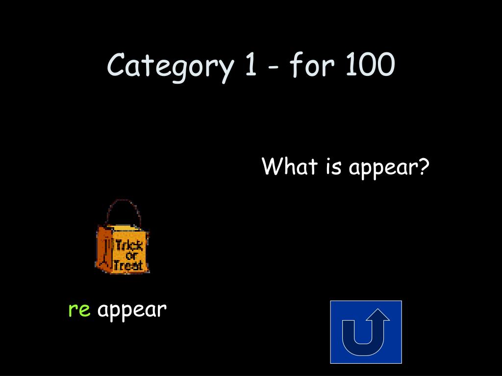 Category 1 - for 100
